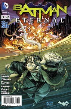 Batman Eternal #7 Cover by Andy Kubert