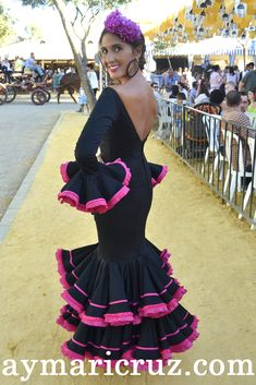 Flamencas en la Feria de Lebrija 2014