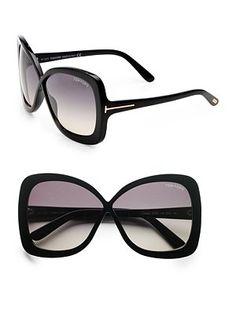 Tom Ford Eyewear - Calgary Plastic Butterfly Sunglasses Óculos De Sol  Feminino, Óculos Feminino, 9a9a0d0d4a