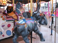 Carousel elephant- best carousel EVER!!!