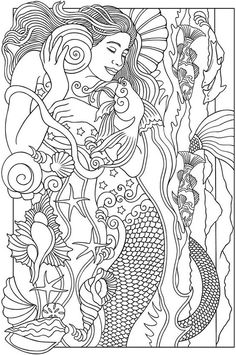 Cute Mermaid Coloring Pages Beautiful Gallery Fairy Mermaid Coloring Pages Beautiful Mermaid Coloring PageColoring Page for Kids : Coloring Page for Kids Fish Coloring Page, Mermaid Coloring Pages, Coloring Pages For Girls, Coloring Pages To Print, Coloring Book Pages, Fairy Coloring, Coloring Sheets, Cute Mermaid, Beautiful Mermaid