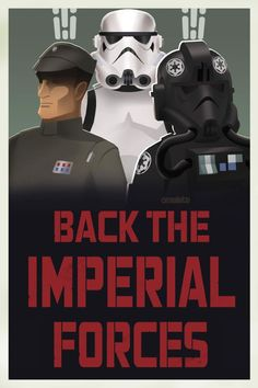 Lucasfilm has debuted some new propaganda posters for the Galactic Empire.