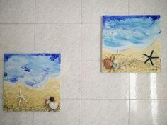 Ricordi di mare - Dipinto su tela