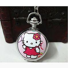 hello kitty pocket watch