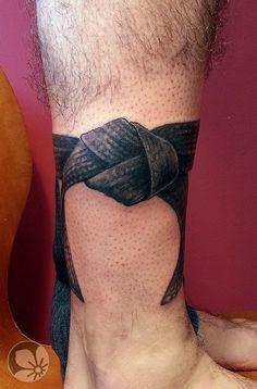 70 Jiu Jitsu Tattoos For Men - Masculine Martial Art Design Ideas Taekwondo Tattoo, Bjj Tattoo, Muay Thai Tattoo, Judo Karate, Oriental Tattoo, Symbolic Tattoos, Black Belt, Black Tattoos, Martial Arts