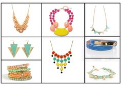 Style Alert – Neon continues to rule this season! Check out these trending accessories.  Are these in your collection?