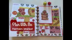 PLAN WITH ME   Happy Planner   FARMERS MARKET THEME!