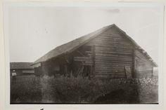 Suppalan riihi.  Oksanen Aino, kuvaaja 1928
