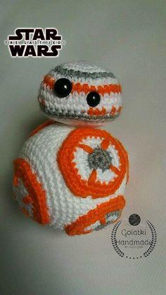 BB8 Star Wars Orginal pattern fom Super Cute Design. #amigurumi #crochet #crochettoys #maskotki #zabwki #szydełko #szydełkowanie #rękodzieło #diy #handmade #yarn #häkeln #ganchillo #Вязаниекрючком #wool #dziergam #amigurumilove #amigurumilicious #bb8 #starwars #gwiezdnewojny #lucasfilm #robot #hobby #myhobby #iloveit #robótki #szydełkiem