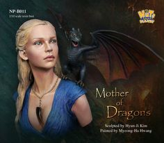 The mother of dragons in 1/10 scale from Nuts Planet, Now in stock!