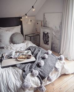 White is the perfect shade of bedroom design for every occasion. It is symbolizing peace and purity. Whether combined with other monochromatic scheme or with various colors of the rainbow, white is still able to express its standing attraction.#white #bedroom #ideas #cozy #onbudget #inexpensive #style #design