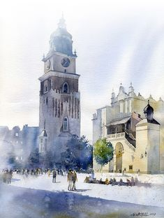 In this articles we will present you the best urban watercolor paintings from some very talented artists. We can use watercolors as a sketch medium or to create an epic watercolor painting, also we can choose between painting technique and drawing te...