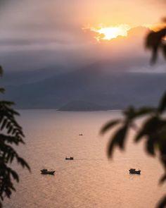 "Kiril Dobrev | Videography on Instagram: ""A fisherman's commute to work in central Vietnam"""