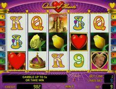 Клуб Вулкан играть на реальные деньги Queen of Hearts.  Игровой автомат Queen of Hearts в клубе Вулкан позволяет выставлять количество активных линий, также возможна игра на реальные деньги с автоматическими вращениями.