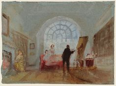 Joseph Mallord William Turner 'The Artist and his Admirers' 1827