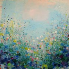 "Saatchi Art Artist Sandy Dooley; Painting, ""Warm Breeze, Cool Shade (sold)"" #art"
