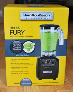 Máy Xay Sinh Tố Hamilton Beach HBH550 64 Oz. HD Fury Blender http://www.amazon.com/Hamilton-Beach-HBH550-Fury-Blender/dp/B00BHMKOLU/