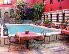 Like the raised pool idea