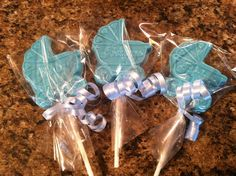 Baby Shower Chocolate Lollipops. $30.00, Via Etsy.