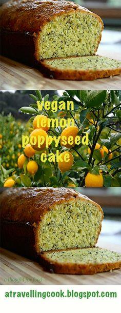 a delicious, moist lemon poppyseed cake!