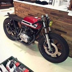 #Yamaha XS 500 bratstyle, caferacer