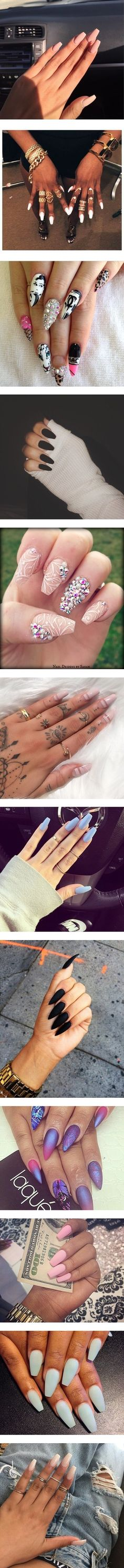 """""""nails"""" by ambportant ❤ liked on Polyvore"""