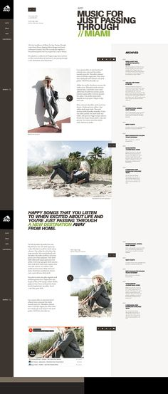 Web | Reef Concept on Behance