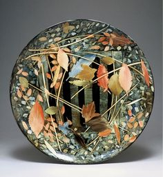This is a Ceramic plate by Sophie MacCarthy in the UK.