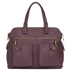 Sophisticated Tote in Dusty Purple