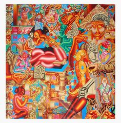 ARTIST ANIRBAN MITRA: OLD PAINTINGS PART 4 (2007 - 2008)