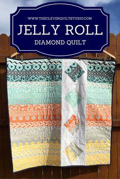 Diamond Jelly Roll Quilt
