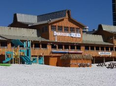 Love this place!! The Back Porch restaurant in Destin, FL. directly on the beach.