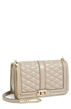 Rebecca Minkoff 'Love' Crossbody Bag available at #Nordstrom $295 steal vs. Chanel boy bag…thousands.