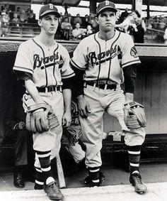 Warren Spahn and Johnny Sain - Boston Braves
