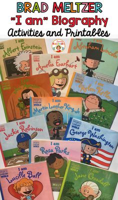 Have you seen these Brad Meltzer biography books in the series called Ordinary People Change the World? I fell so in love with these books about historical figures that are true role models of growth mindset, perseverance, and courage. Each pack includes no prep printables and activities for your 3rd, 4th, or 5th grade students. Brad Meltzer will make you laugh, cry, and everything in between! Choose single activity packs or grab the bundle at a steep discount!