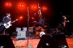 The Moondogs, banda independete de Rock, em apresentação no Citibank Hall