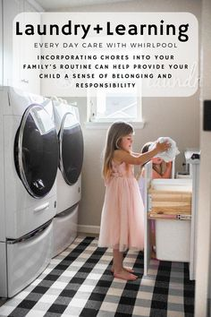 Choose Whirlpool products and appliances and trust they'll handle your family's chores with care. Find the right Whirlpool appliance to manage your needs. Laundry Appliances, Home Appliances, Fold Clothes, Pant Shirt, Stacked Washer Dryer, Routine, Count, Socks, Child