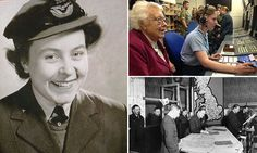 Eileen Younghusband, 94, from Cardiff, was one of the WAAF radar operators working at RAF Fighter Command in London during the Second World War and tracked incoming Luftwaffe bombers.