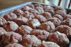 Barbecued Meatballs - Freezer Friendly