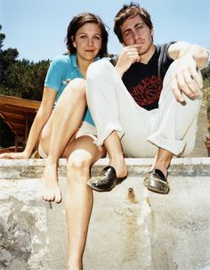 Jake and Maggie Gyllenhaal