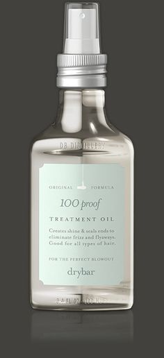 Treatment Oil Provides amazing shine and helps rejuvenate dry and damaged hair. Our hair care treatment is the magic finisher you can use on any blowout, and can be reapplied throughout the day as nee