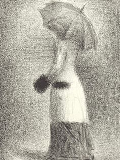 The White Coat  Georges Seurat  1883 This is my favorite of Seurat's works...I absolutely love this...