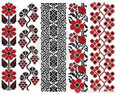 There Is A Scheme Of Ukrainian Pattern For Embroidery Royalty Free Cliparts, Vectors, And Stock Illustration. Cross Stitch Borders, Cross Stitch Charts, Cross Stitching, Cross Stitch Patterns, Folk Embroidery, Cross Stitch Embroidery, Embroidery Patterns, Free Cliparts, Bordado Popular