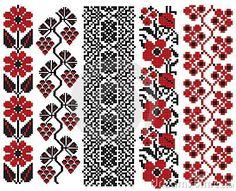 Ukrainian embroidery flower elements by Boordon, via Dreamstime