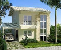 imagenes de casas de dos pisos - Buscar con Google
