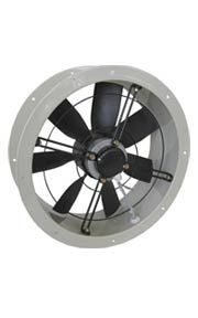 AXIAL FANS - Flat profiled axial fans - ER-DR    Narrow profile axial fans    External rotor motor protected through thermal contact  0-100% regulable speed through electronic controller or transformer    Balanced according DIN1940    Oversized ball bearings, lubricated for life  Low noise level  With tubular casing for installation in ducts    Some three phase models are available in EX anti-explosion execution    Three phase models available with 2 speed motors  www.airtecnics.com Centrifugal Fan, Noise Levels, Motors, Fans, Profile, Curtains, Projects, Life, User Profile