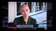 Cindy Marion Jaimes Cárdenas, exseñorita Boyacá  y paciente diagnosticada en el año 2012 con cáncer de ovario. Relato de su historia