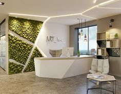 Office of the advertising company, . Office of the advertising company, …, Clinic Interior Design, Clinic Design, Interior Design Photos, Healthcare Design, Dental Office Design, Modern Office Design, Design Offices, Modern Offices, Office Designs