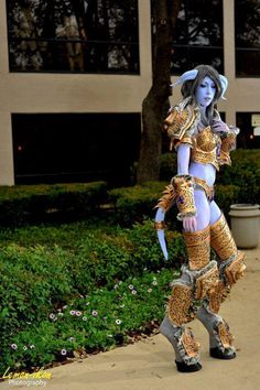 Draenei, World of Warcraft, by Mythos Creations.
