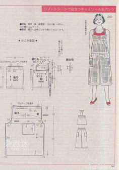 Japanese book and handicrafts - Lady Boutique Japanese Sewing Patterns, Dress Sewing Patterns, Clothing Patterns, Sewing Blouses, Japanese Books, Book And Magazine, Love Sewing, Pants Pattern, Ladies Boutique